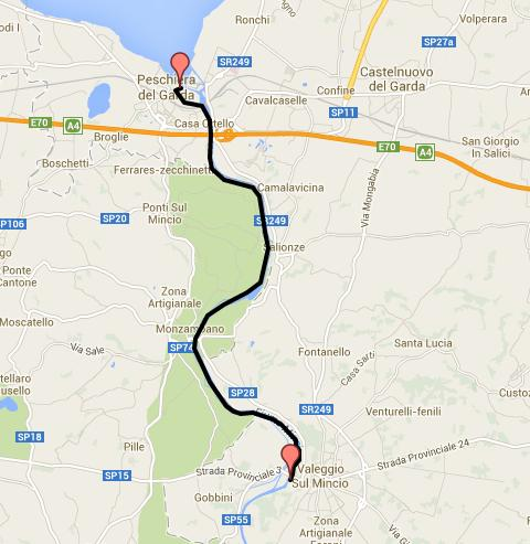 Garda Lake Biking Tour On The Mincio River Delightfully